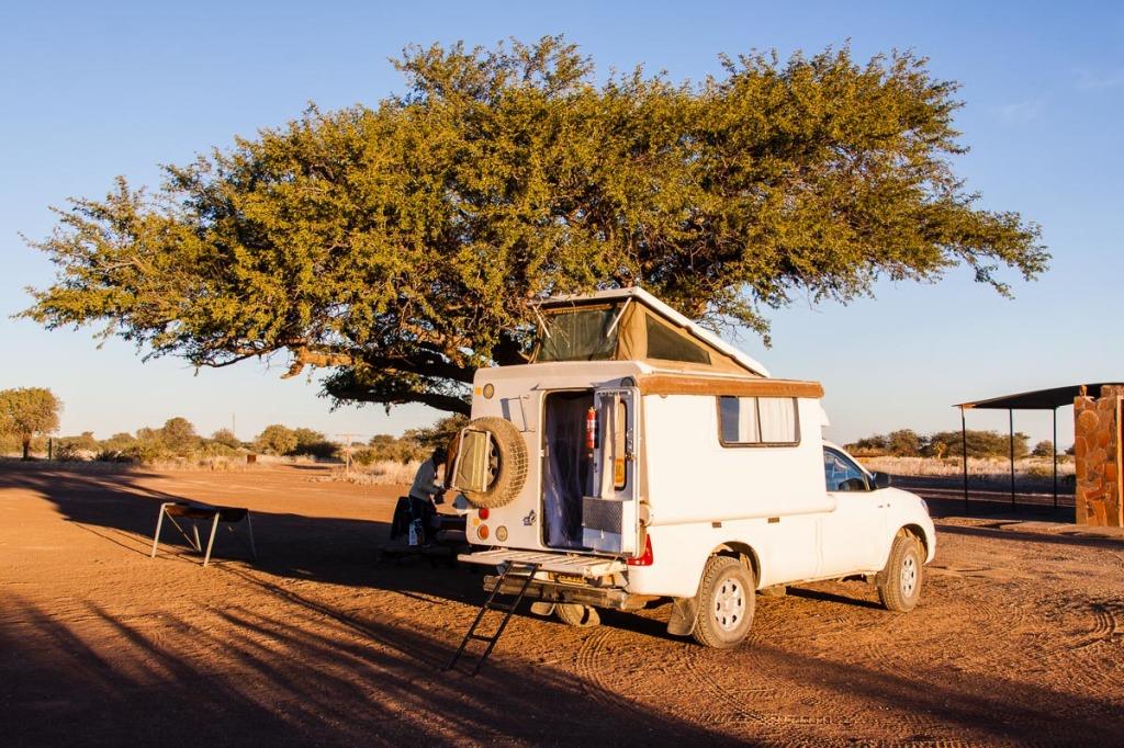 Campingplatz auf der Farm Gariganus