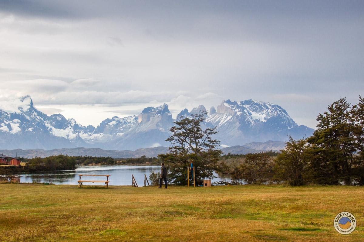 Blick aus dem fenster land  Patagonien Teil 3 – Torres Del Paine NP – dinky-land