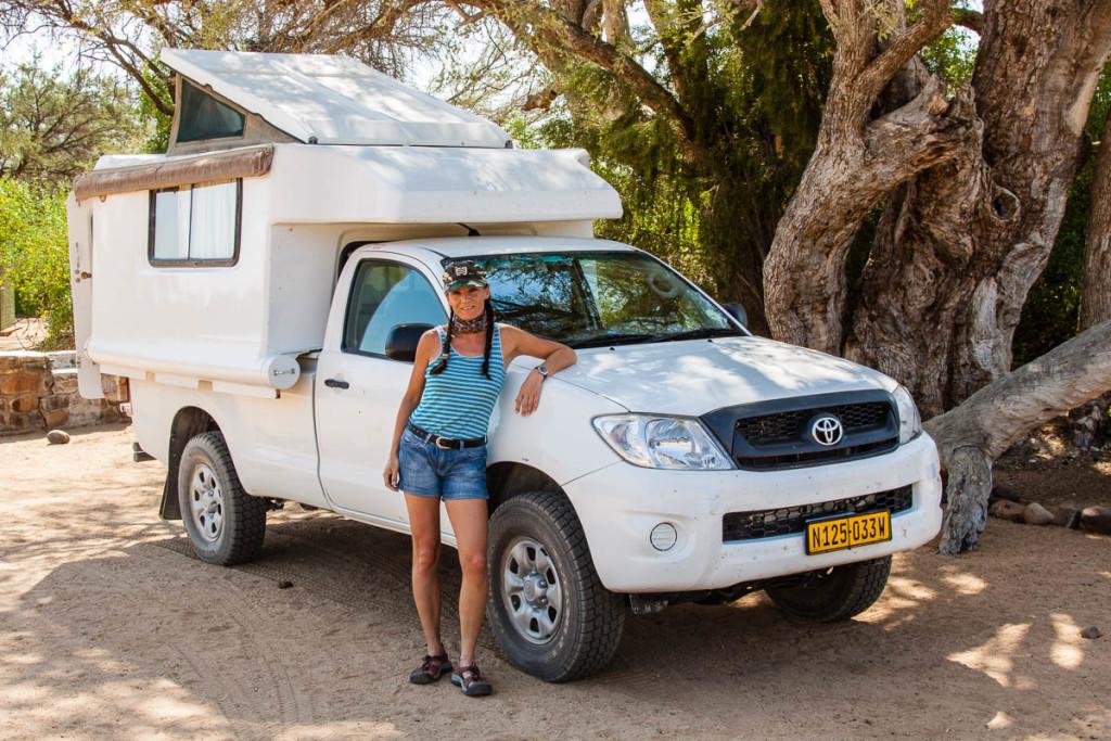 Brandberg White Lady Camping