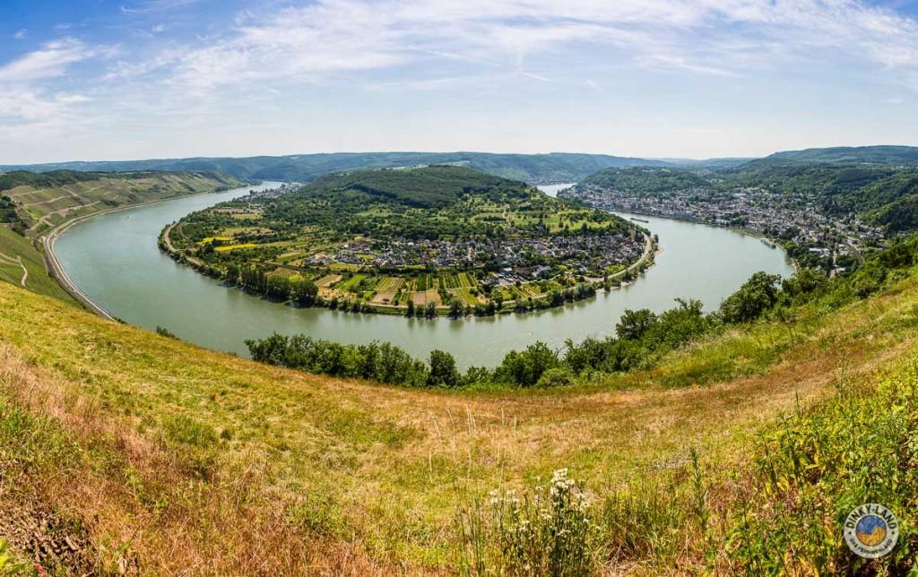 Die Rheinschleife in Boppard