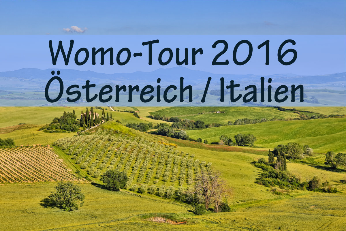 wohnmobil tour italien sterreich 2016 dinky land. Black Bedroom Furniture Sets. Home Design Ideas
